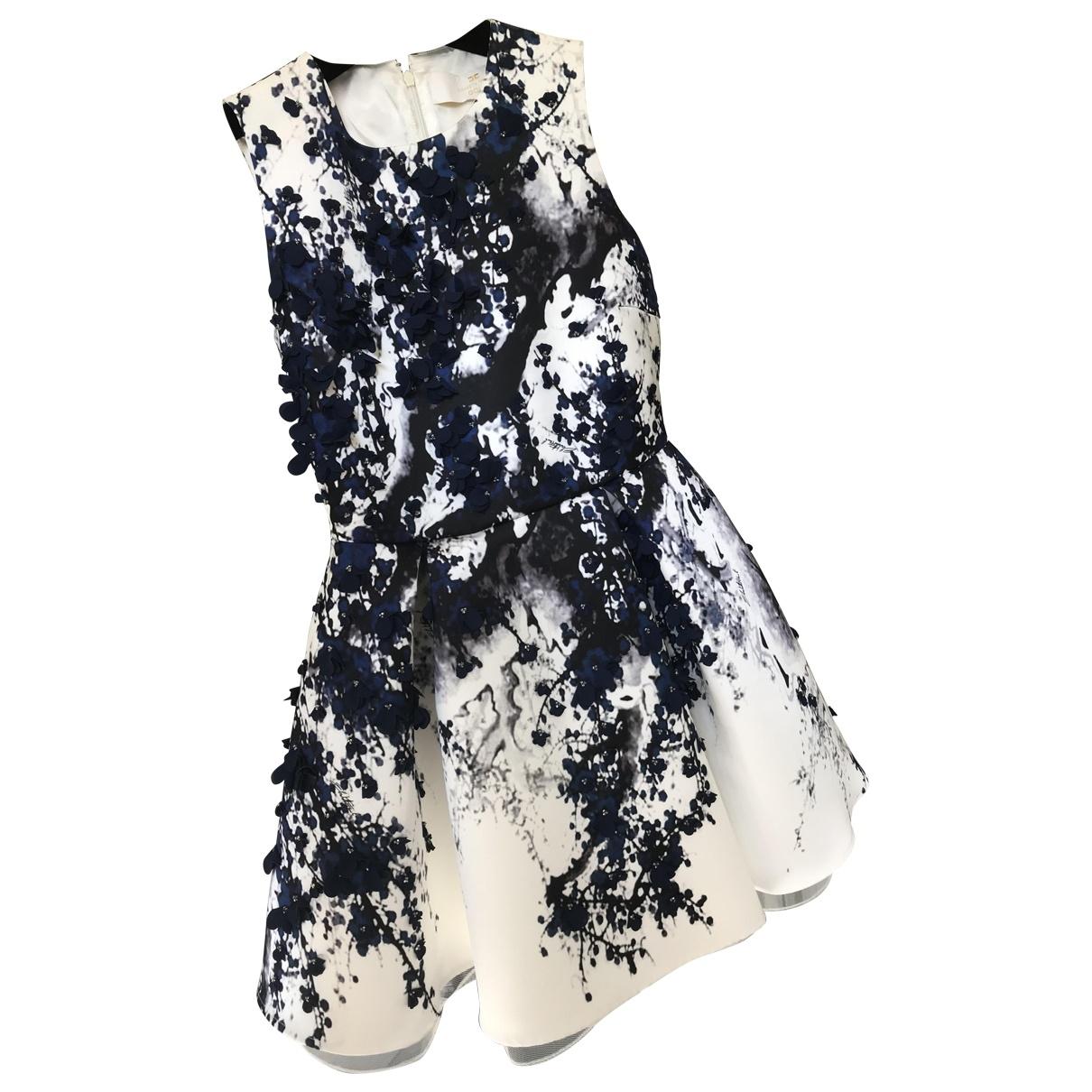 Elisabetta Franchi \N White dress for Women 36 FR
