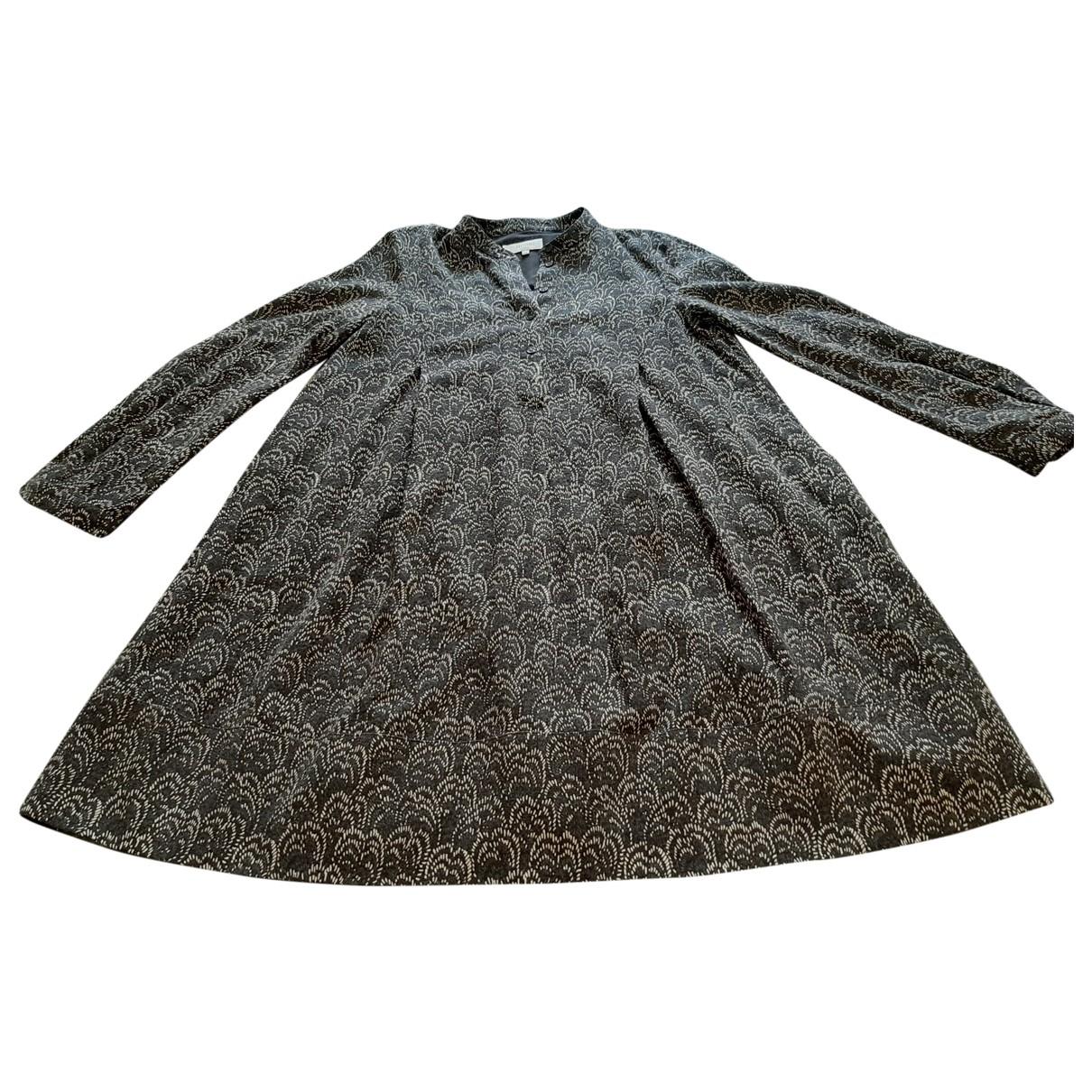 Hobbs \N Kleid in  Braun Wolle