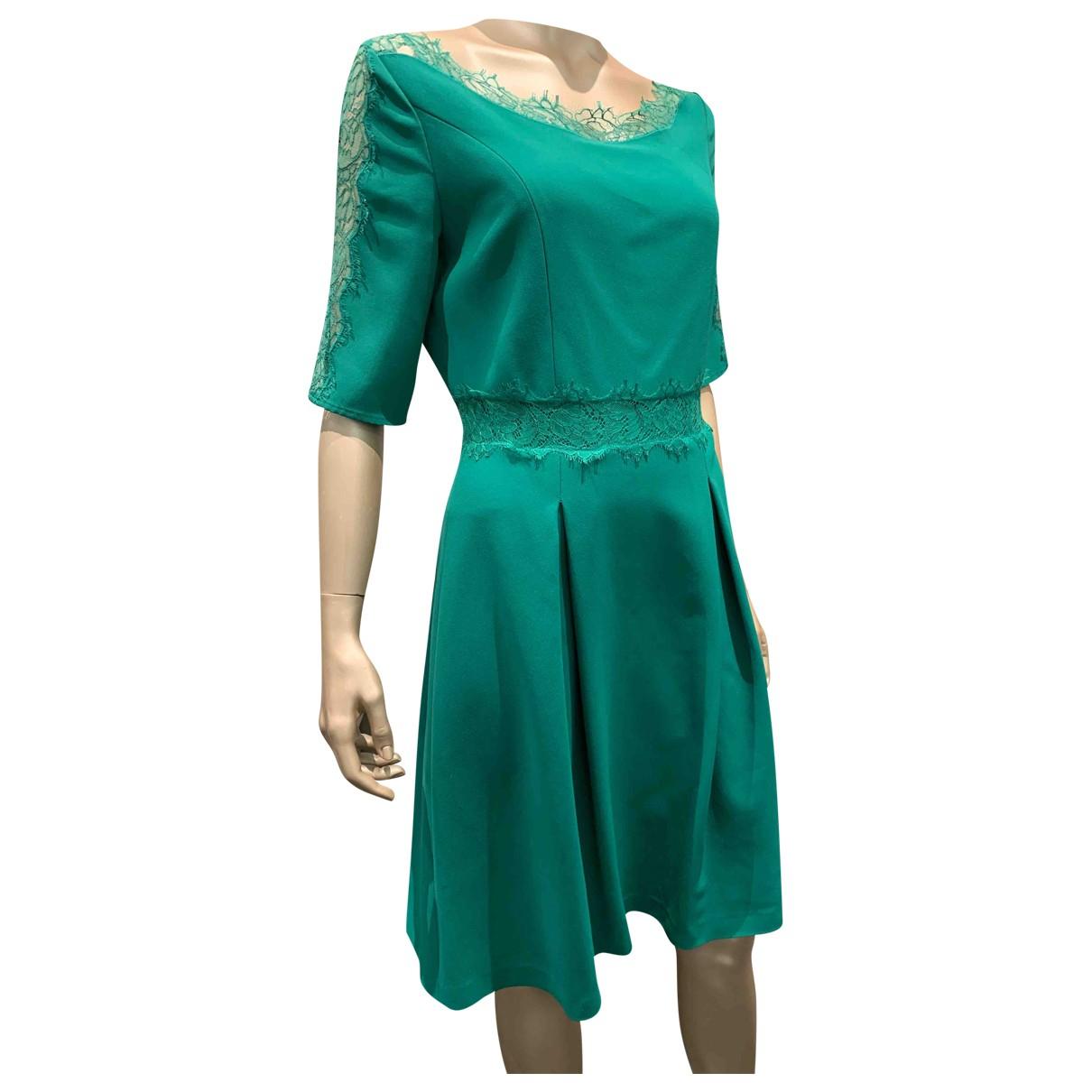 Blumarine \N Kleid in  Gruen Viskose