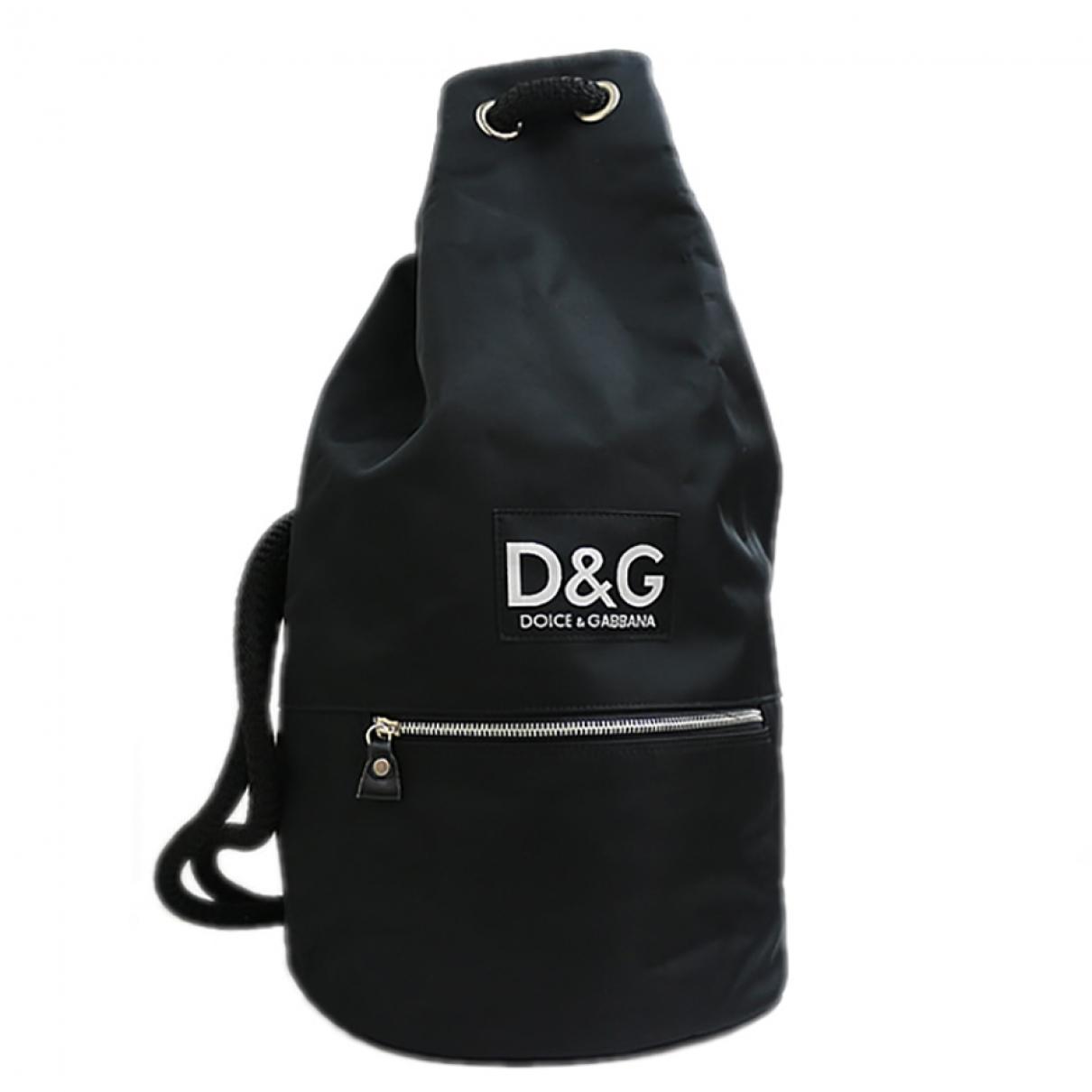 D&g - Sac a dos   pour femme en toile - noir