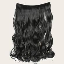 Lockige Haarverlaengerung