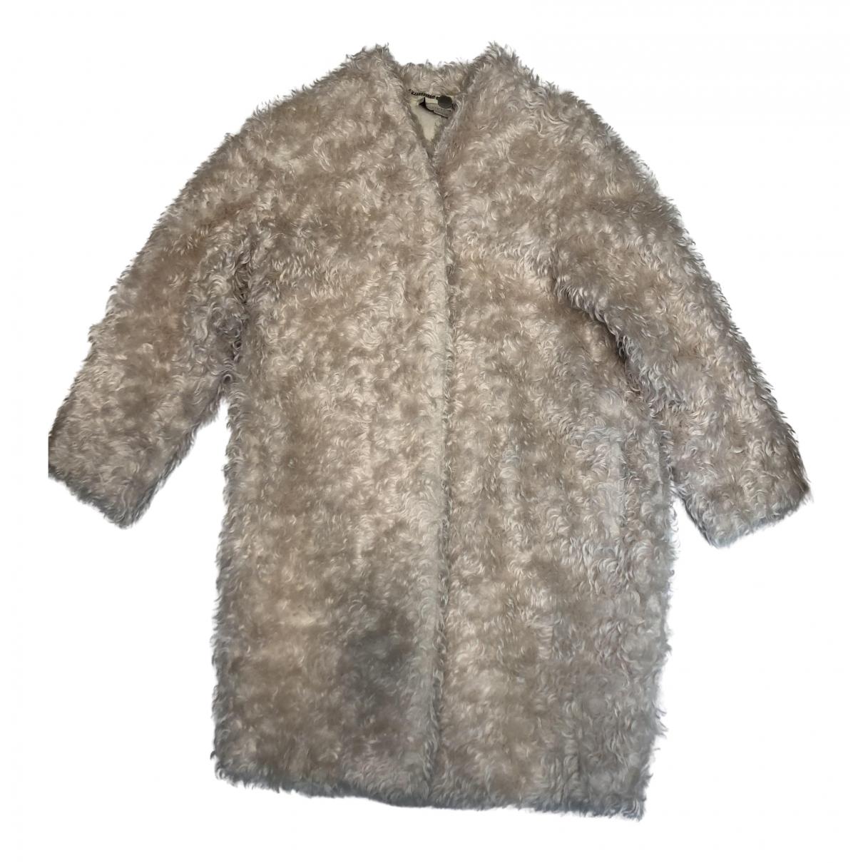 Stella Mccartney \N White Faux fur coat for Women 34 FR