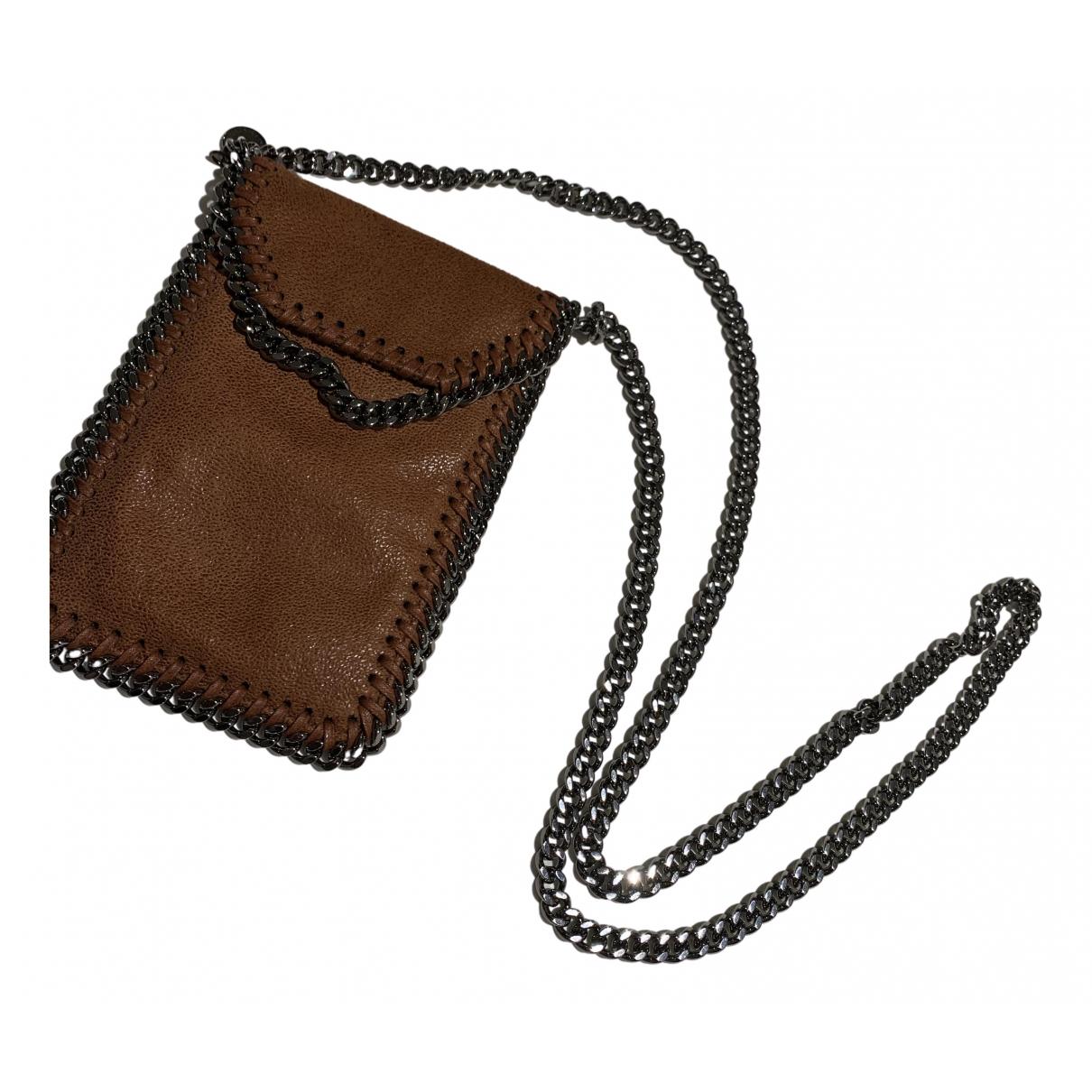 Stella Mccartney Falabella Brown Cloth handbag for Women N