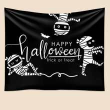 Tapisserie mit Halloween Muster