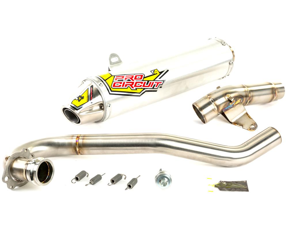 Pro Circuit 4QH06450 T-4 Exhaust System W/Spark Arrestor Honda TRX450 2006-2014