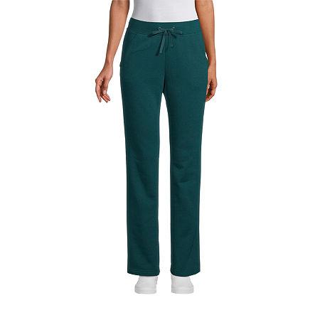 St. John's Bay Womens Mid Rise Straight Drawstring Pants - Tall, Xx-large Tall , Green