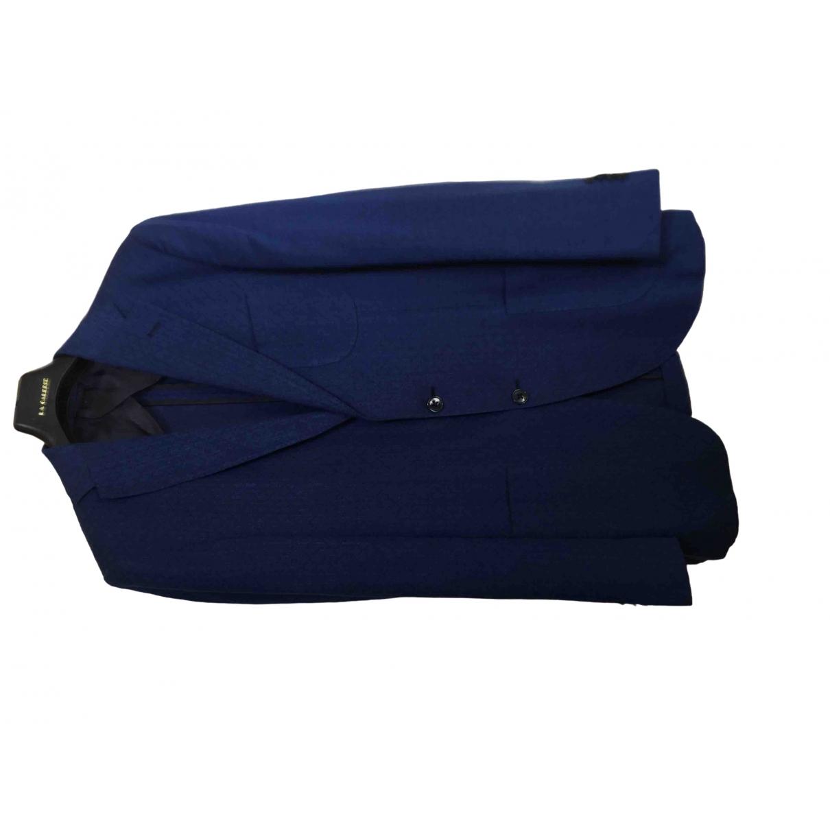 Boggi \N Blue Wool jacket  for Men 50 IT