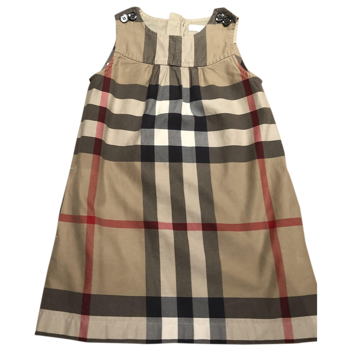 Burberry \N Beige Cotton dress for Kids 4 years - until 40 inches UK