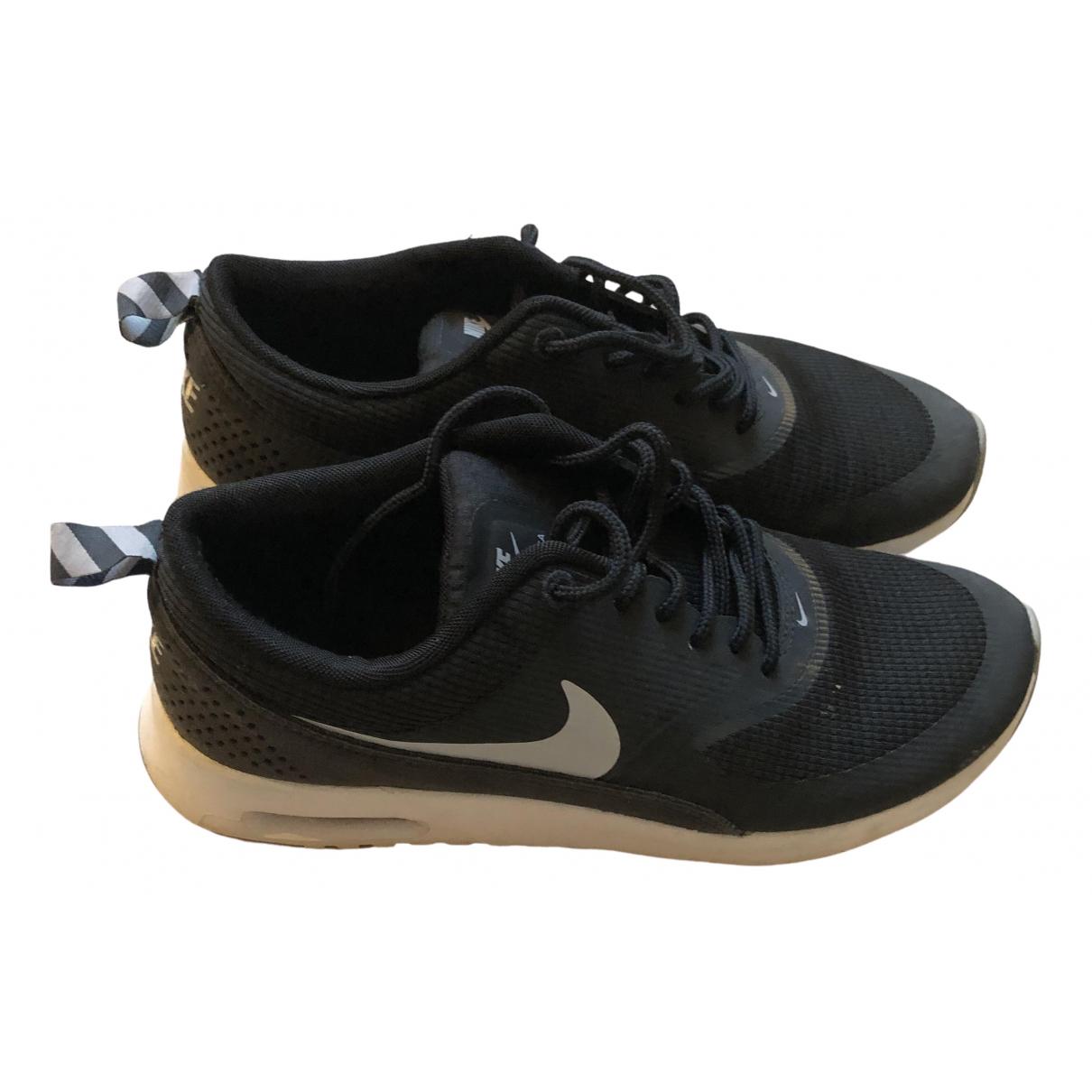 Nike Air Max  Sneakers in  Schwarz Polyester