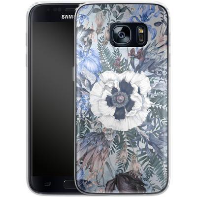 Samsung Galaxy S7 Silikon Handyhuelle - Frost von Stephanie Breeze