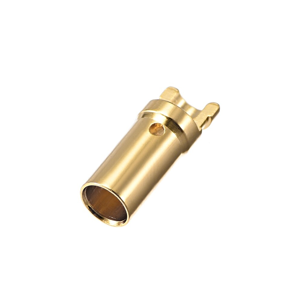 3.5 mm Bullet Connector Gold Plated Banana Plugs Female 10pcs - 69 (69)