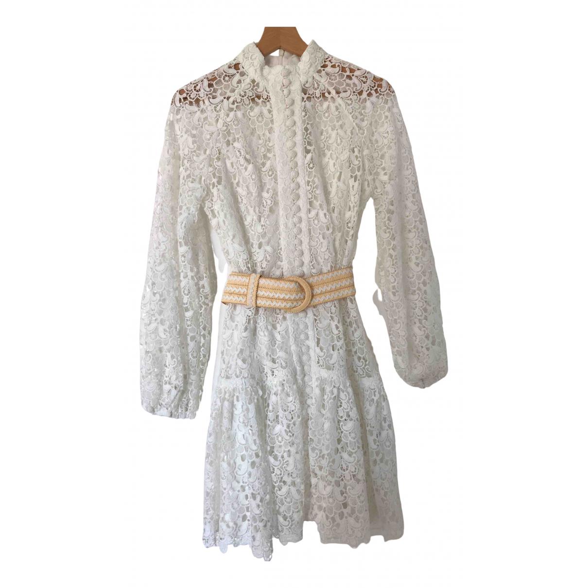 Zimmermann - Robe   pour femme - blanc