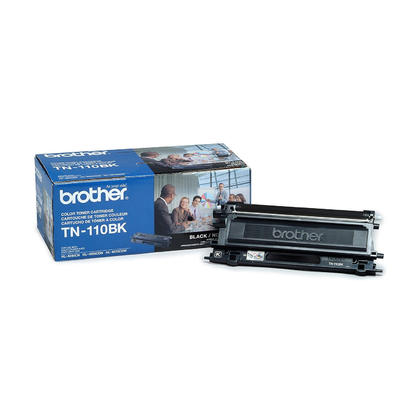 Brother TN110BK Original Black Toner Cartridge
