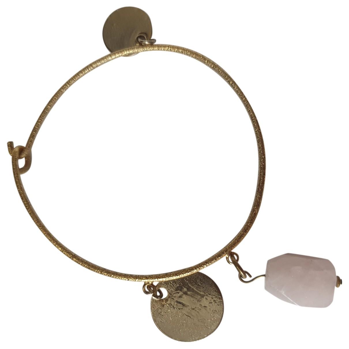 Massimo Dutti \N Gold Metal bracelet for Women \N