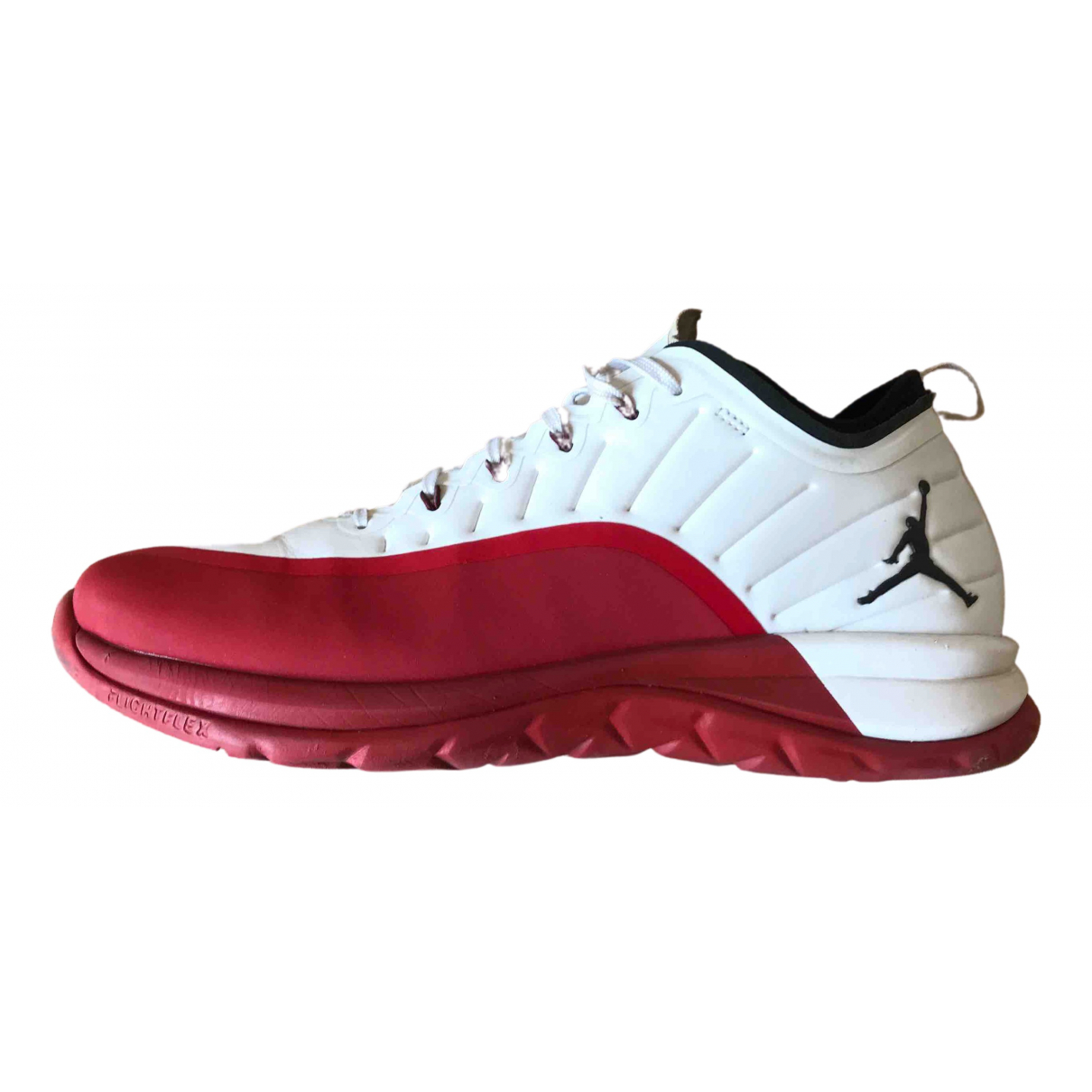 Jordan - Baskets   pour homme en cuir - blanc