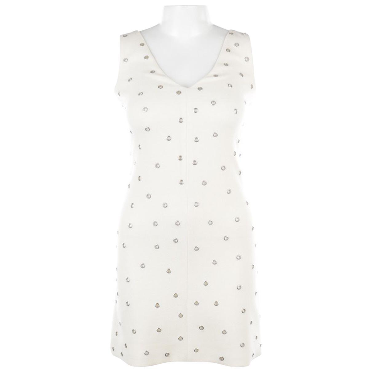 Victoria Beckham - Robe   pour femme en laine - blanc