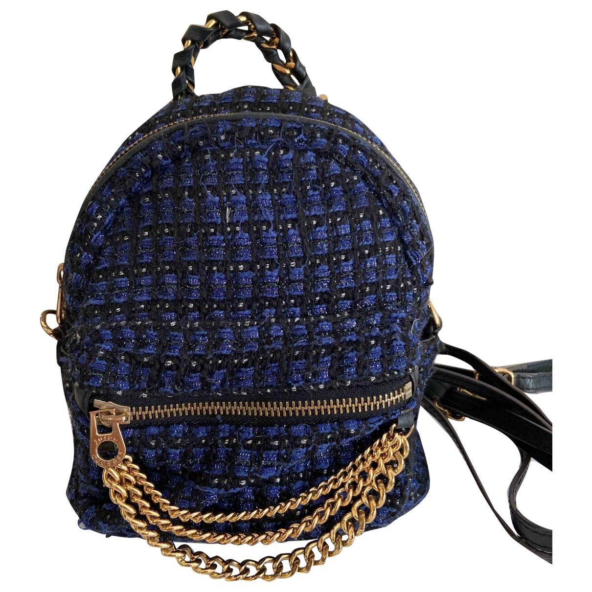 Juicy Couture \N Rucksaecke in  Blau Tweed