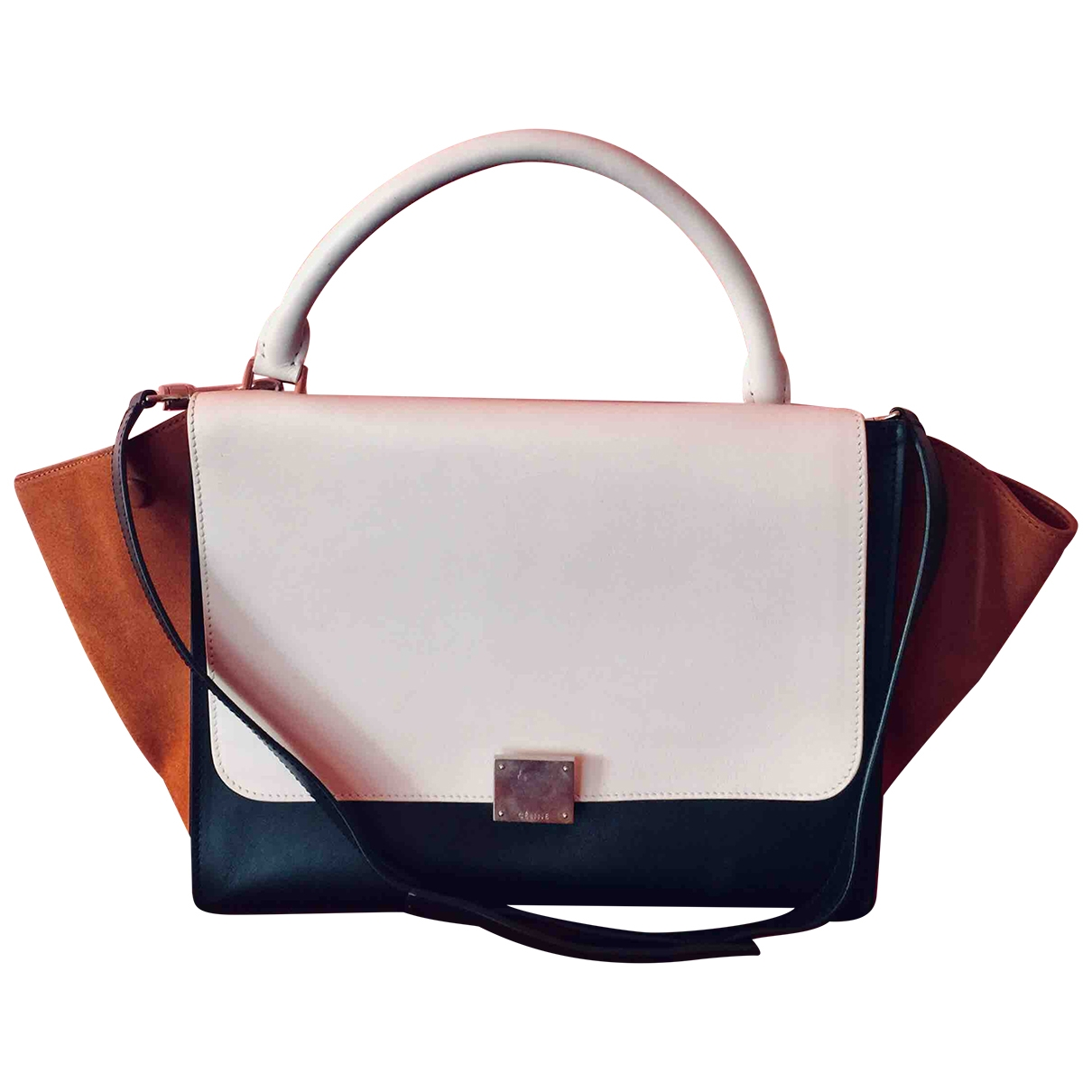 Celine Trapèze Leather handbag for Women \N