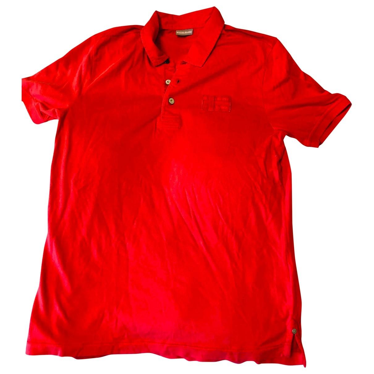 Polo en Algodon Rojo Napapijri