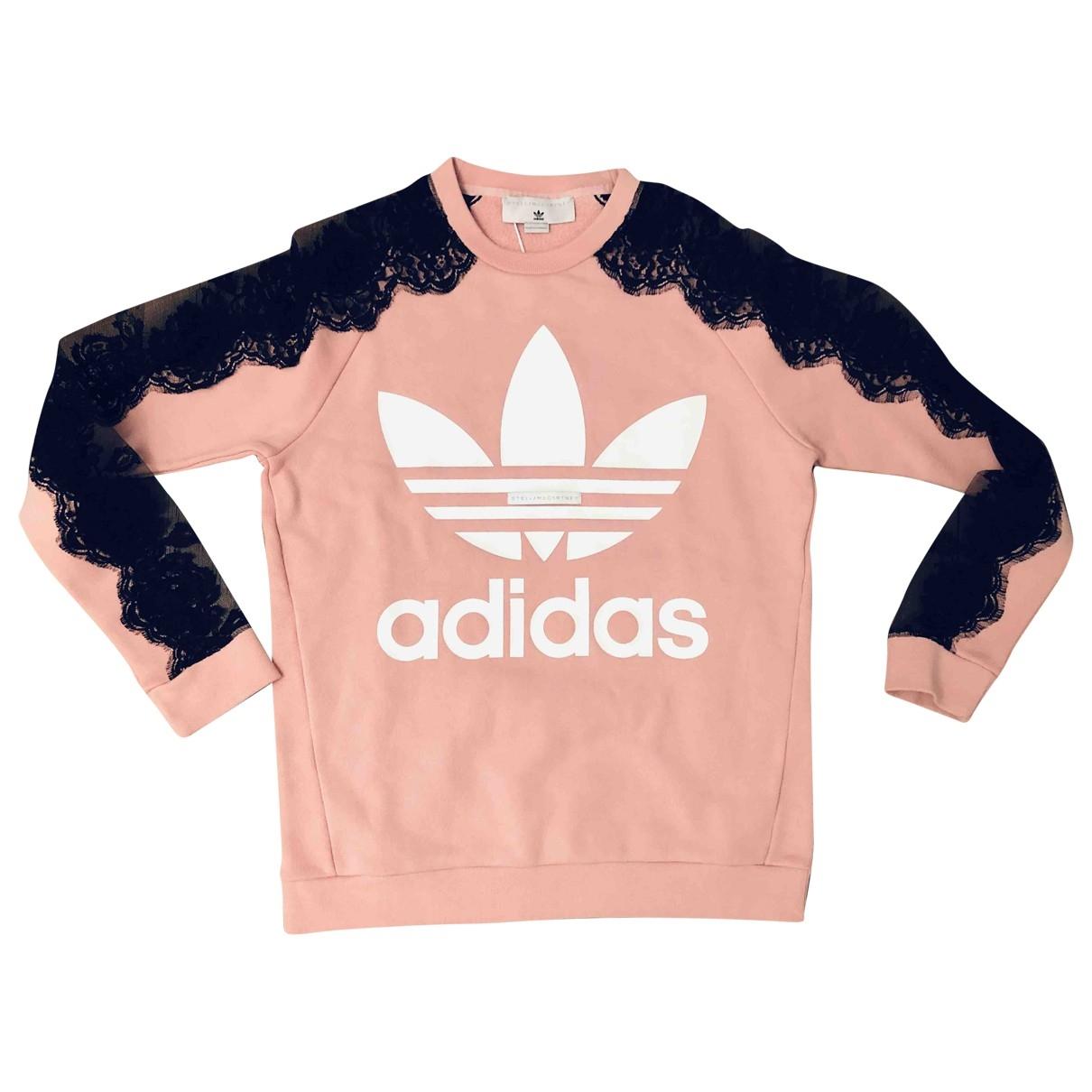 Stella Mccartney Pour Adidas \N Top in  Rosa Baumwolle