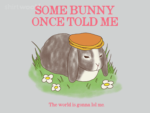 Some Bunny Once Told Me T Shirt