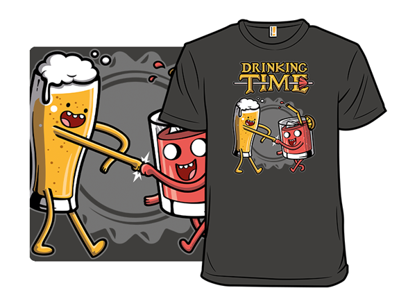 Drinking Time T Shirt