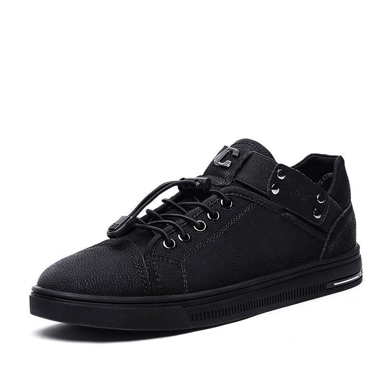 Ericdress Elastic Band Plain Men's Skate Shoes