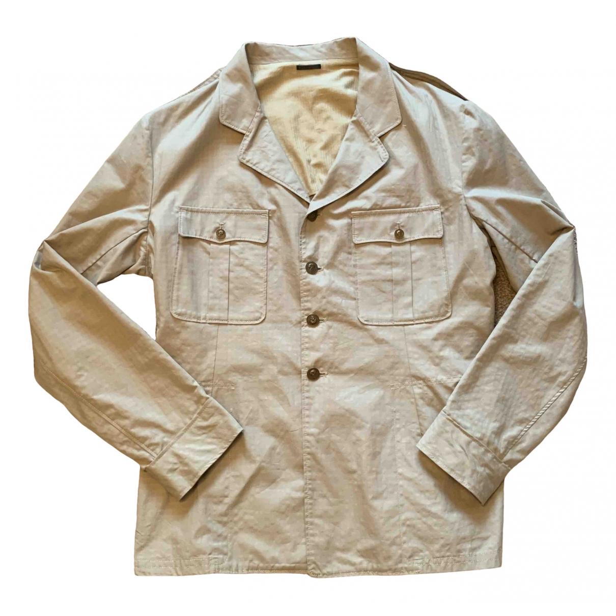 Alexander Mcqueen \N Ecru Cotton jacket  for Men 56 IT