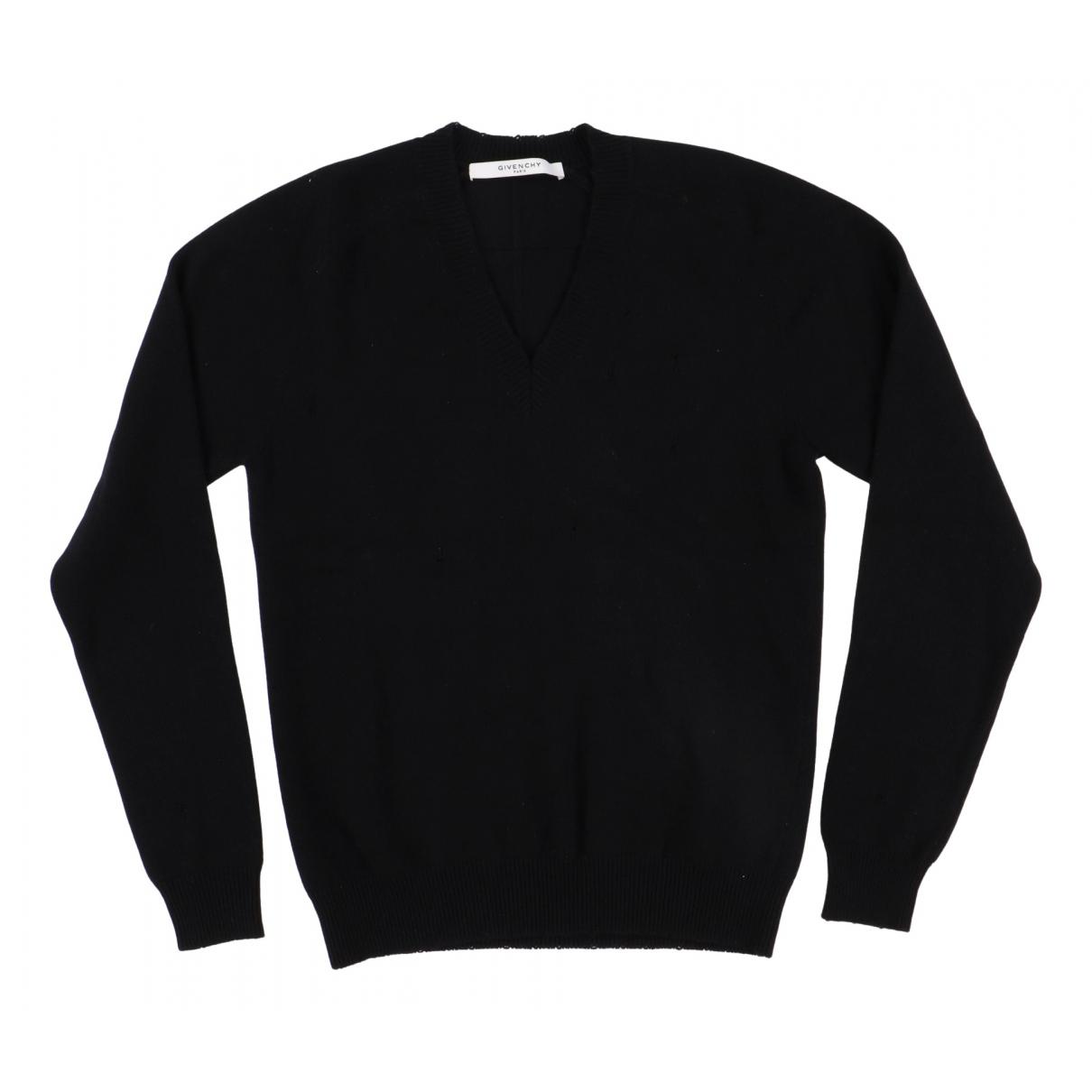 Givenchy \N Pullover.Westen.Sweatshirts  in  Schwarz Wolle