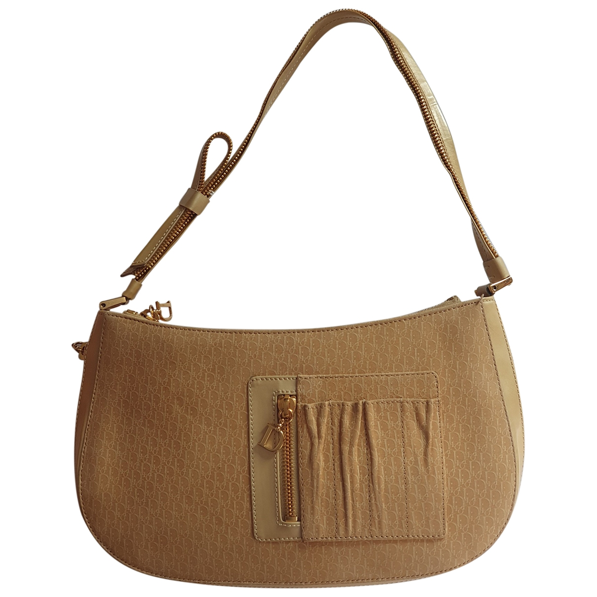 Dior \N Beige Cloth handbag for Women \N