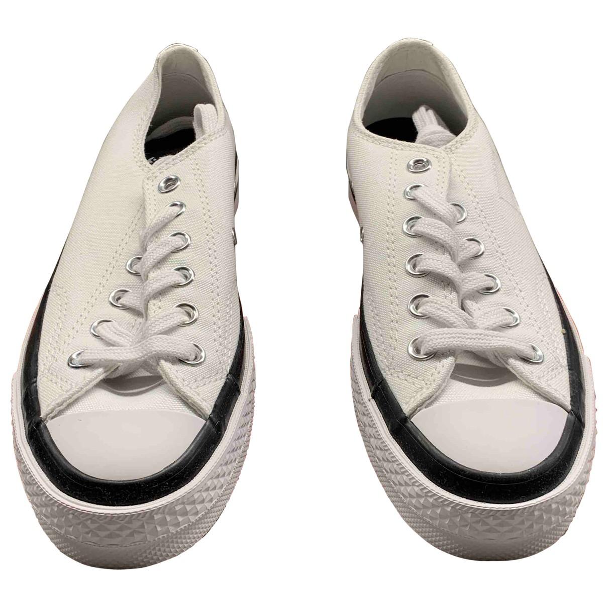 Converse - Baskets   pour femme en toile - blanc