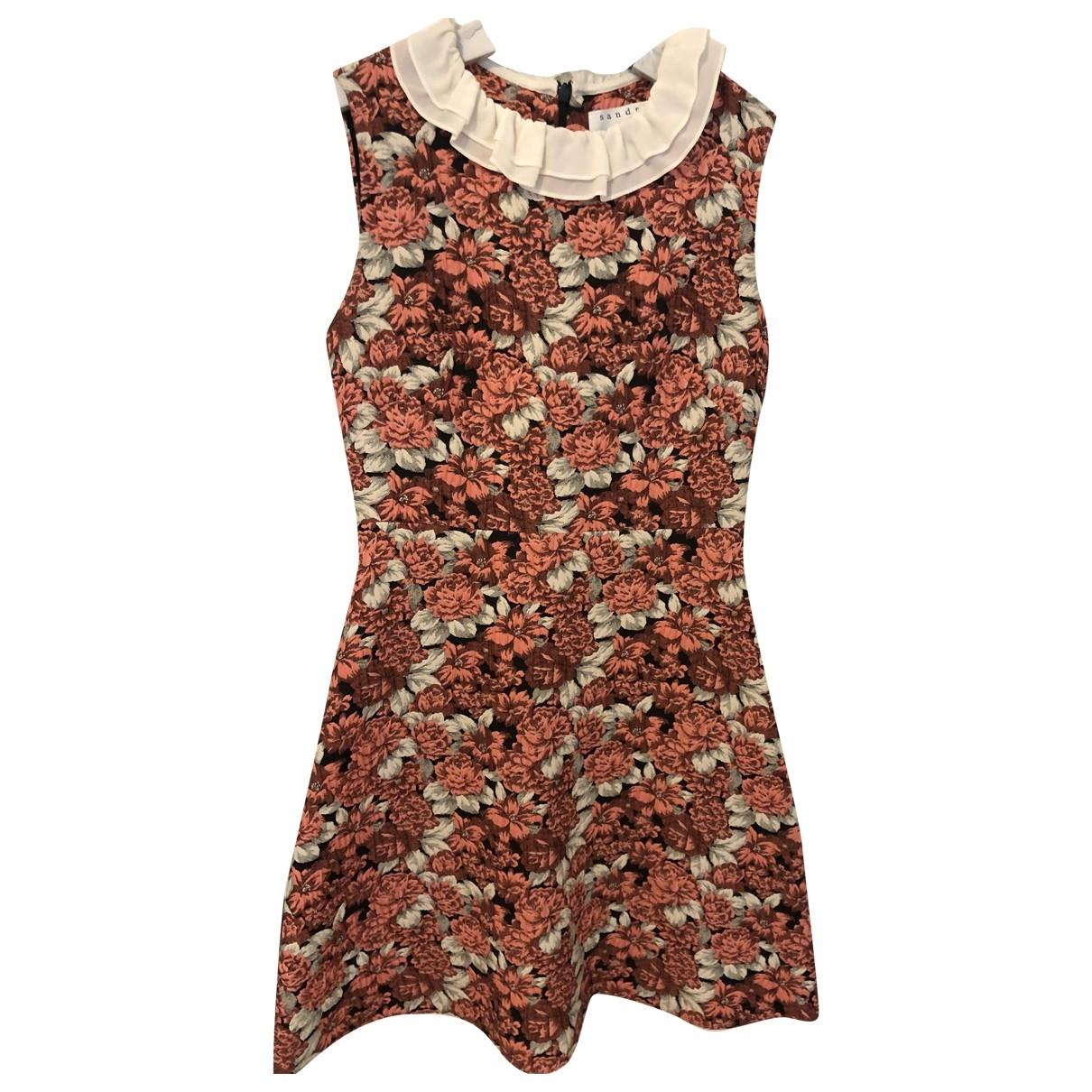 Sandro \N Kleid in  Bunt Baumwolle
