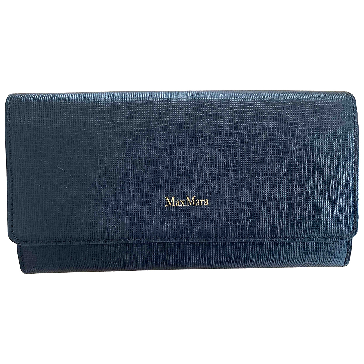 Max Mara \N Black Leather wallet for Women \N