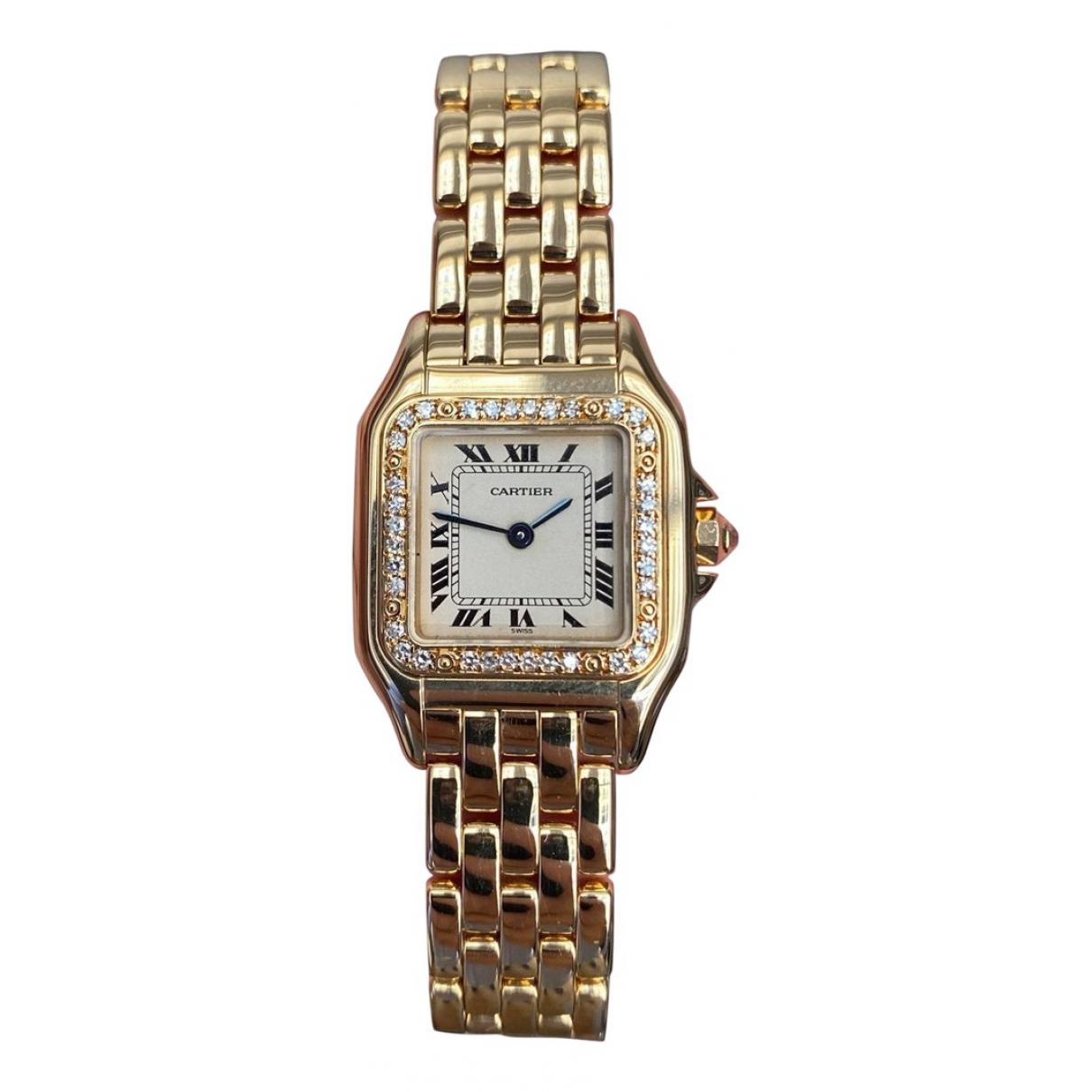 Cartier Panthère Gold Yellow gold watch for Women N