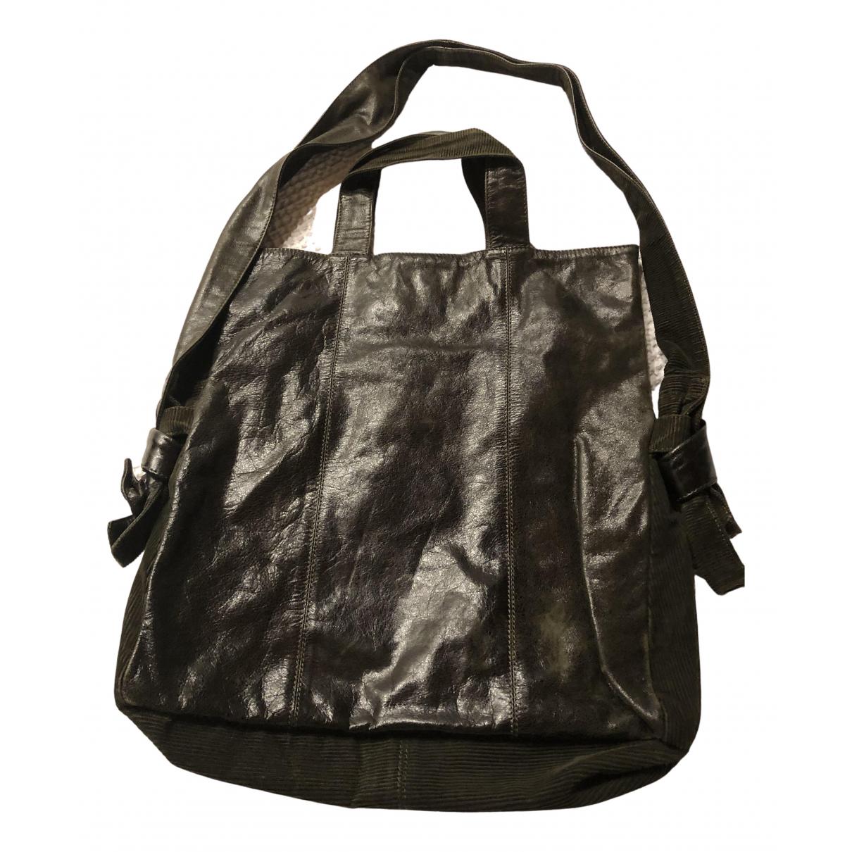Max & Co N Green Leather handbag for Women N