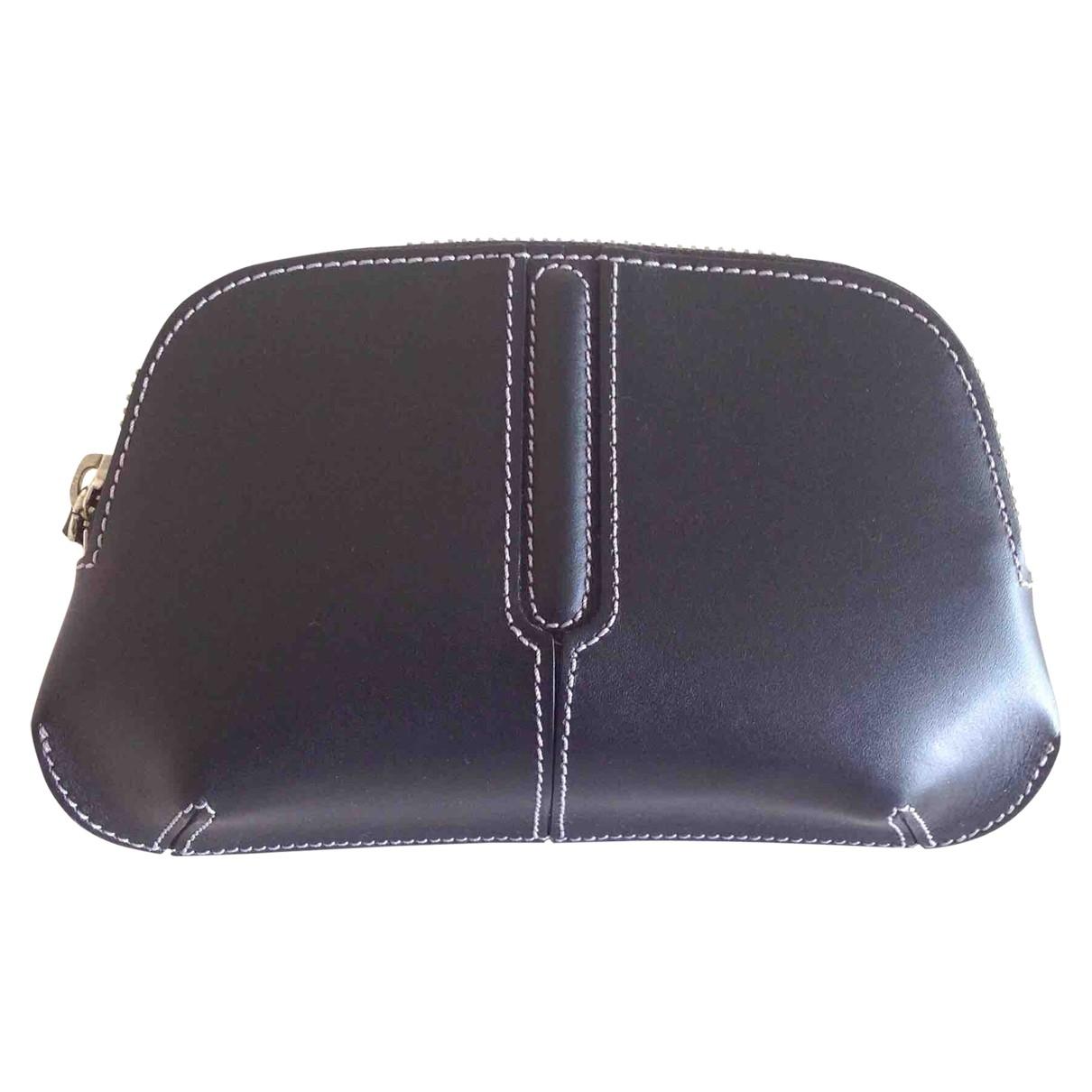 Lancel \N Black Leather Purses, wallet & cases for Women \N