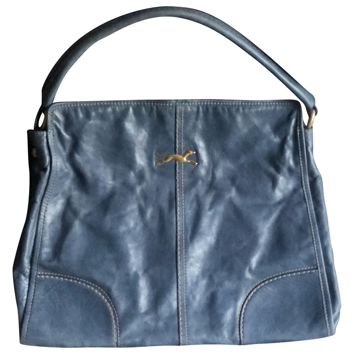 Bimba Y Lola \N Handtasche in  Blau Fell