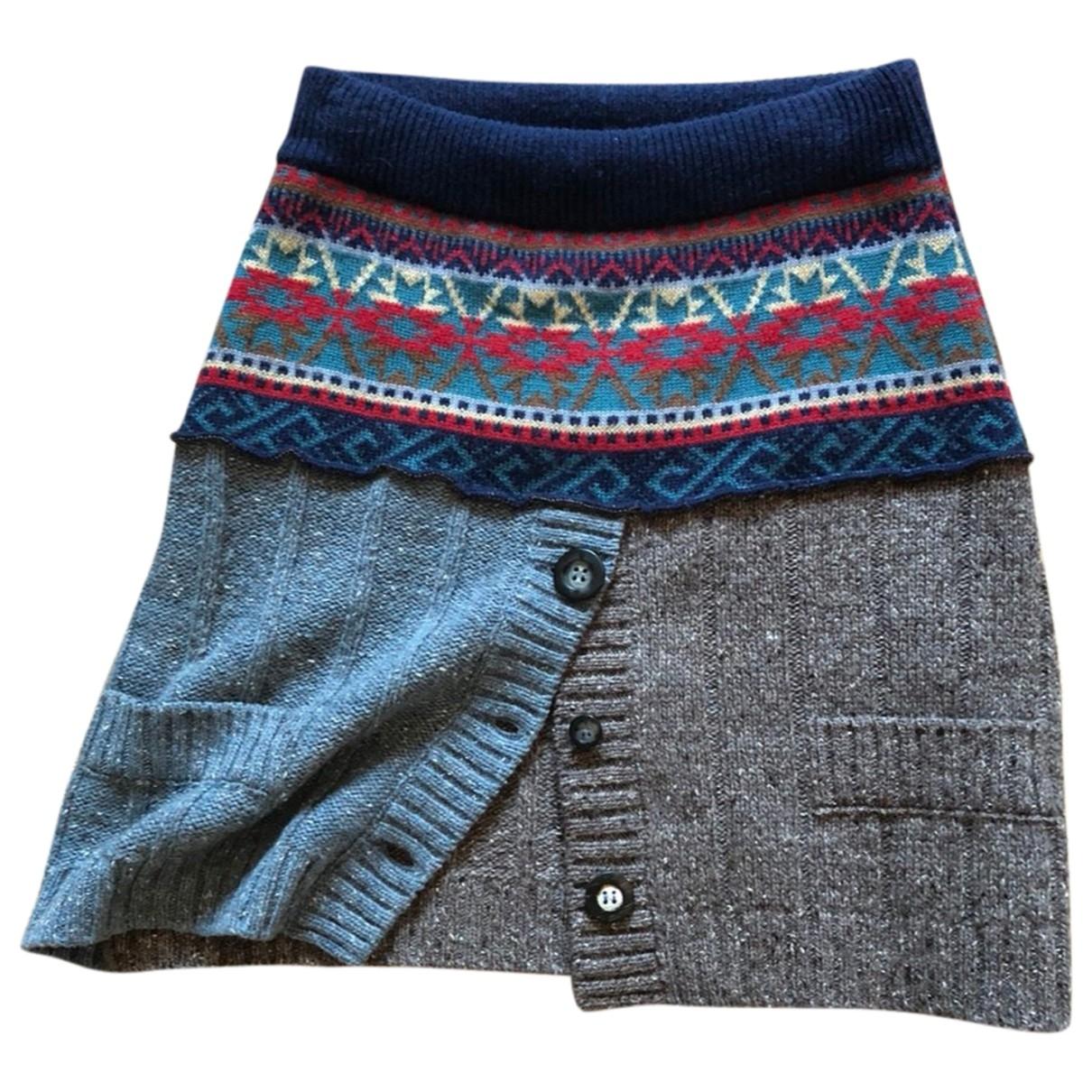 Dolce & Gabbana \N Multicolour Wool skirt for Women 42 IT