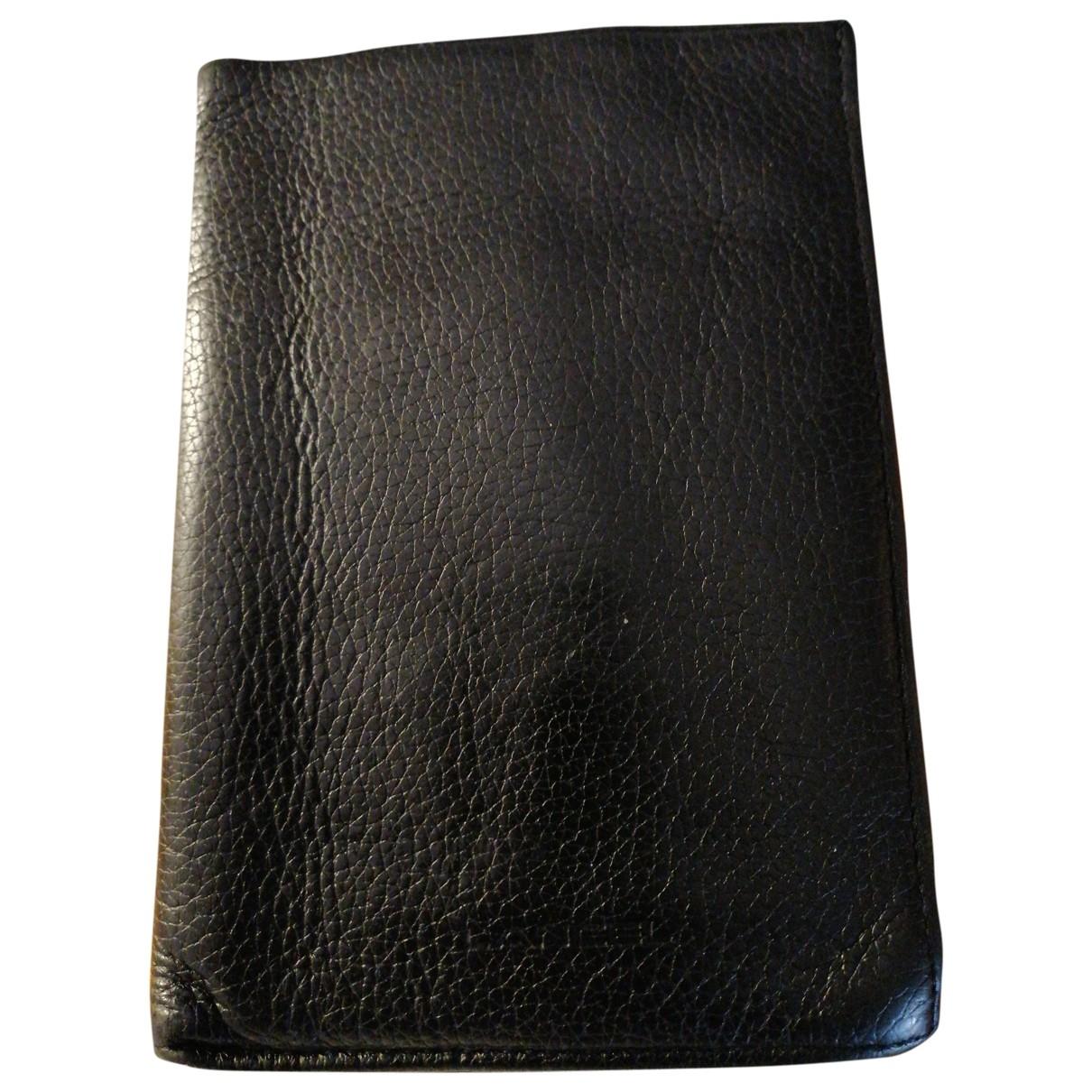 Lancel - Petite maroquinerie   pour homme en cuir - noir
