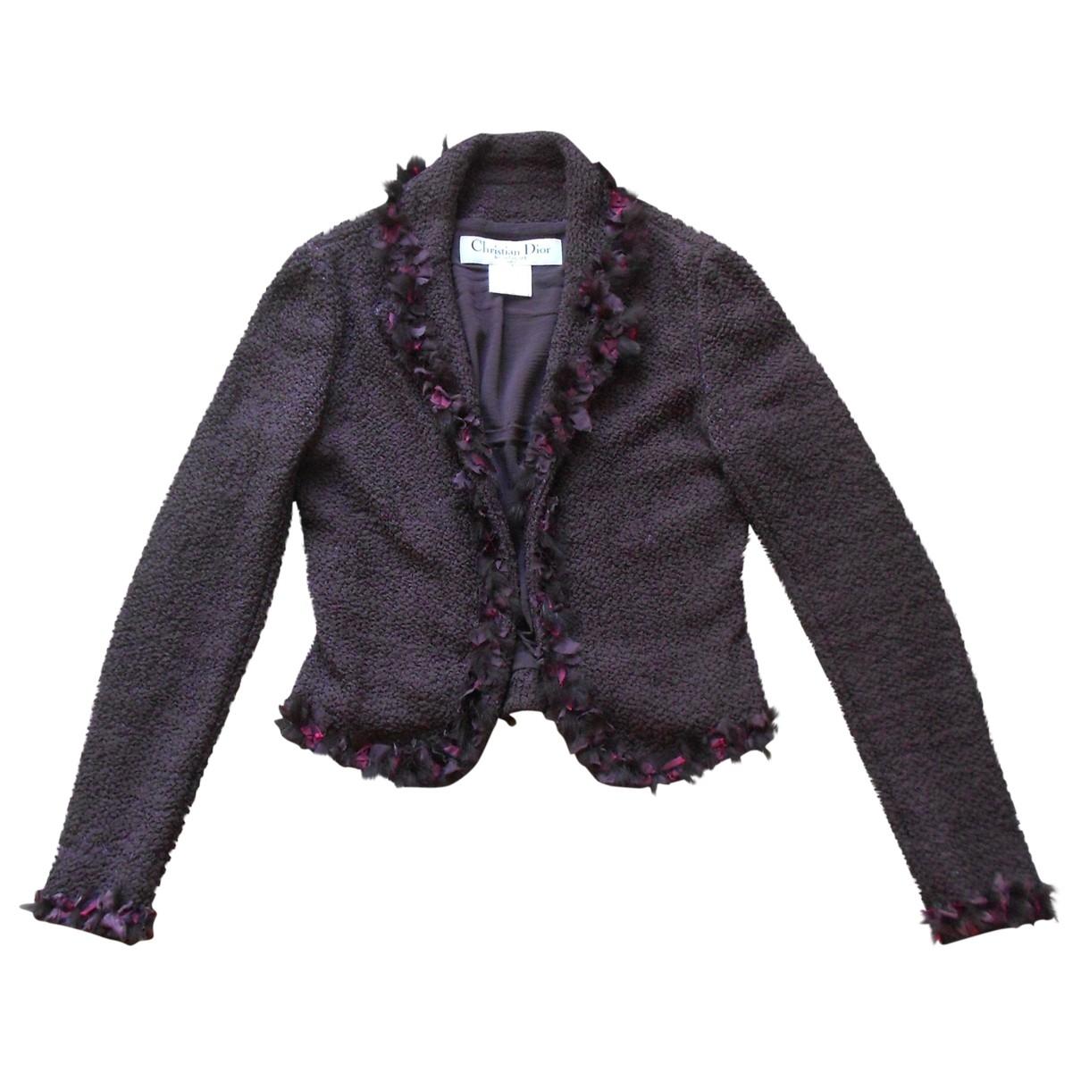 Dior \N Purple Silk jacket for Women 36 FR