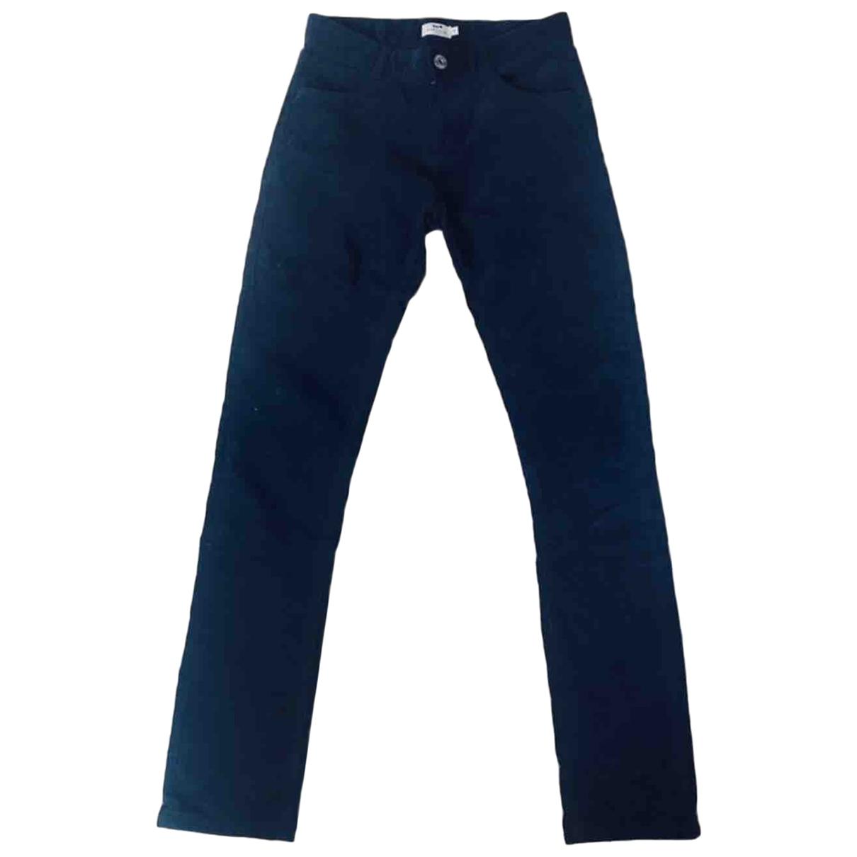 Cyrillus - Pantalon   pour femme en velours - marine