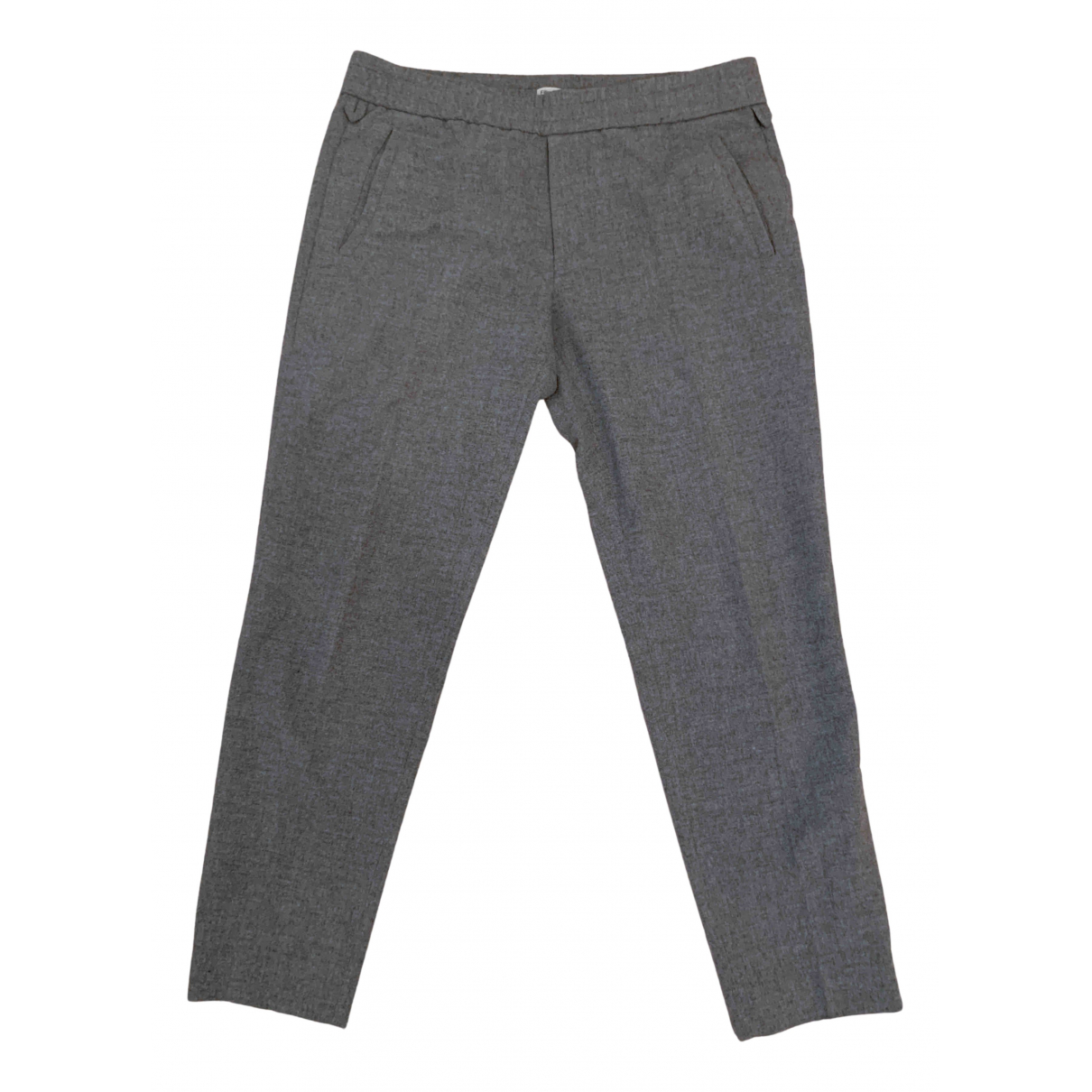 Filippa K N Grey Wool Trousers for Men 52 IT