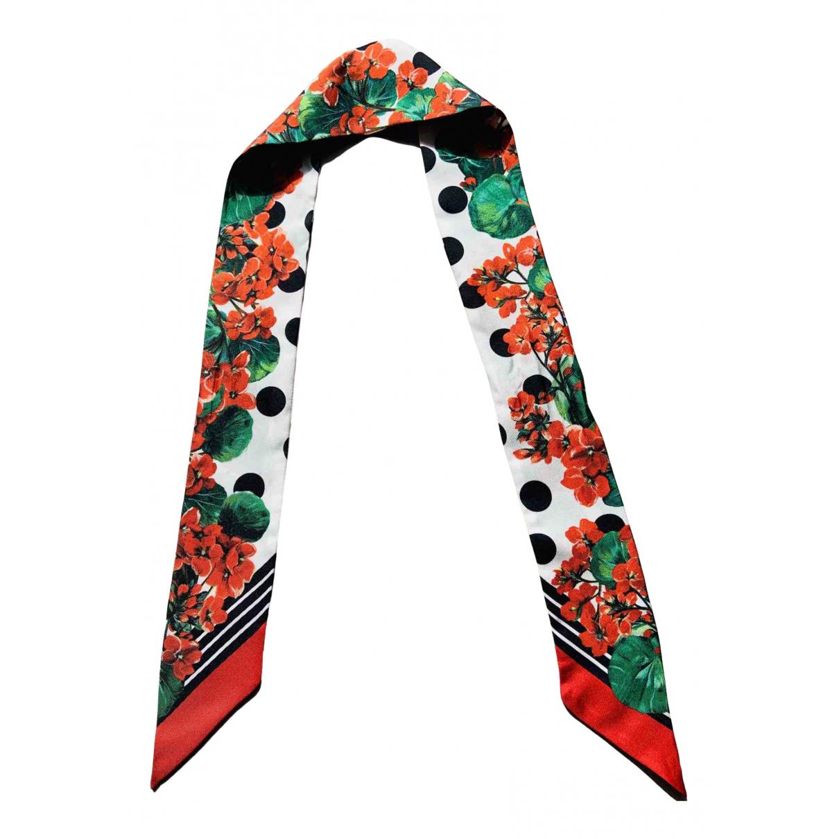 Dolce & Gabbana N Red Silk scarf for Women N