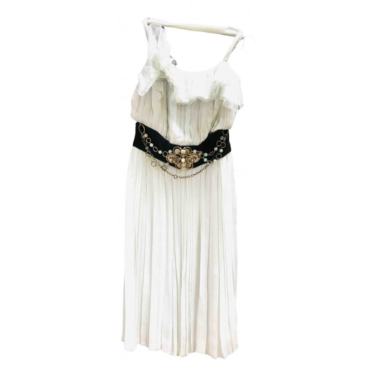 Chloé \N Green Silk dress for Women 36 IT