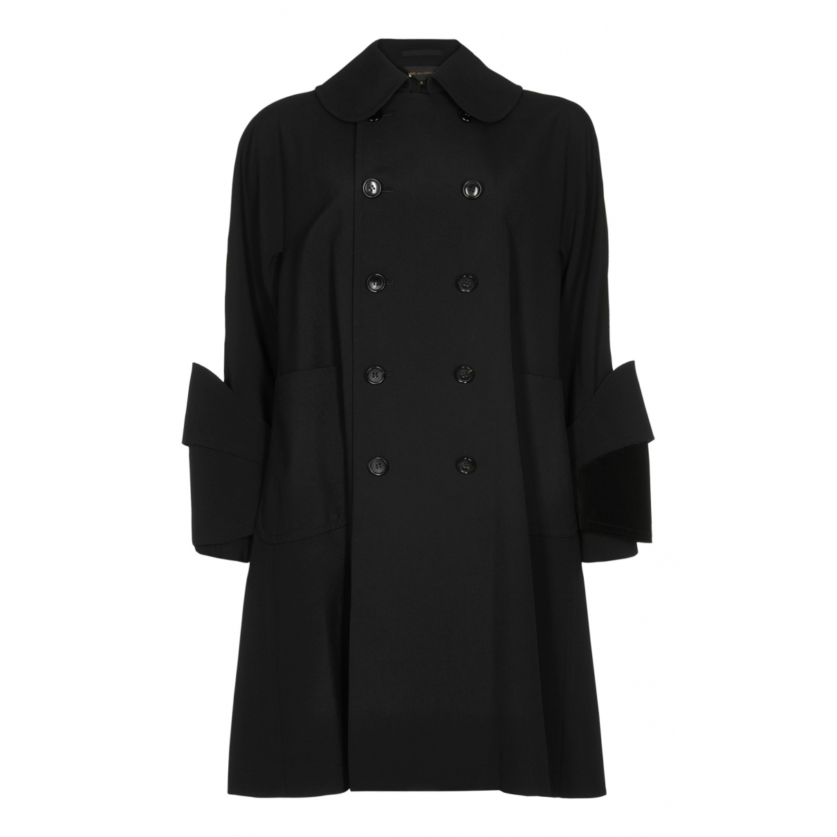Comme Des Garcons N Black Wool coat for Women S International
