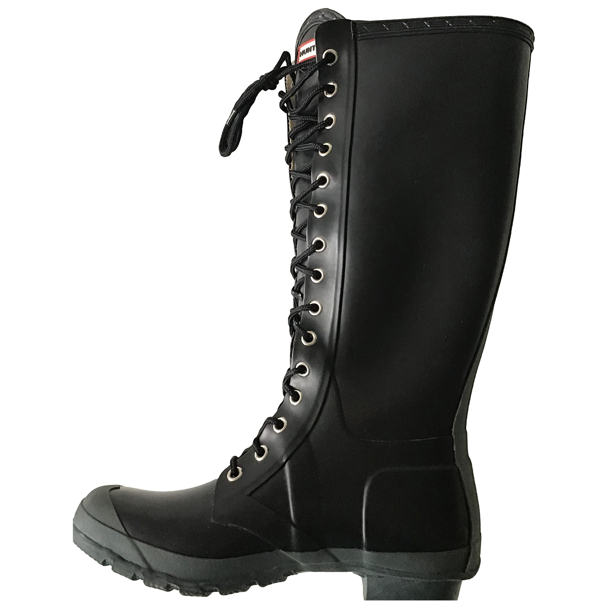 Hunter \N Black Rubber Boots for Women 8 UK