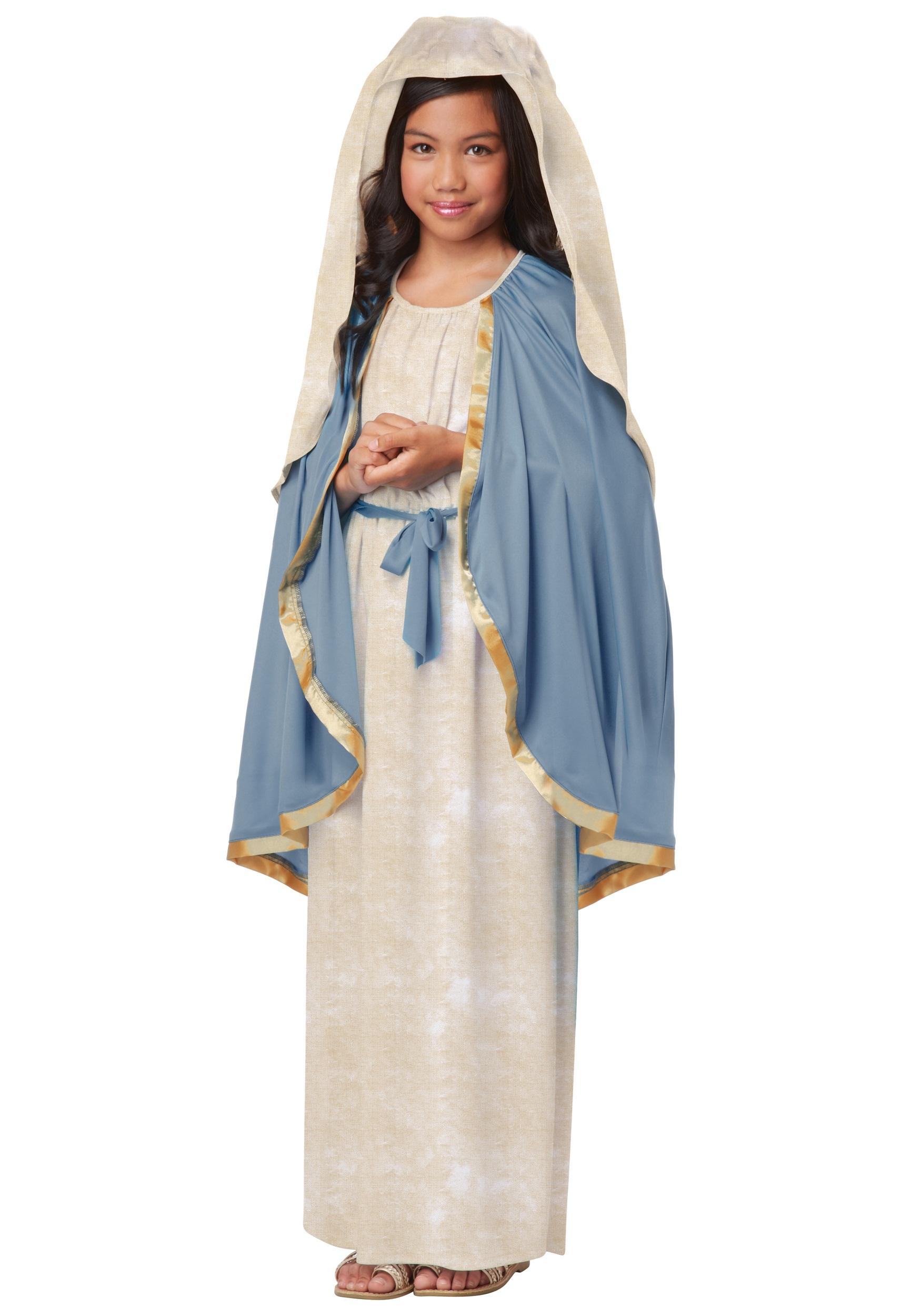 Virgin Mary Costume for Girls