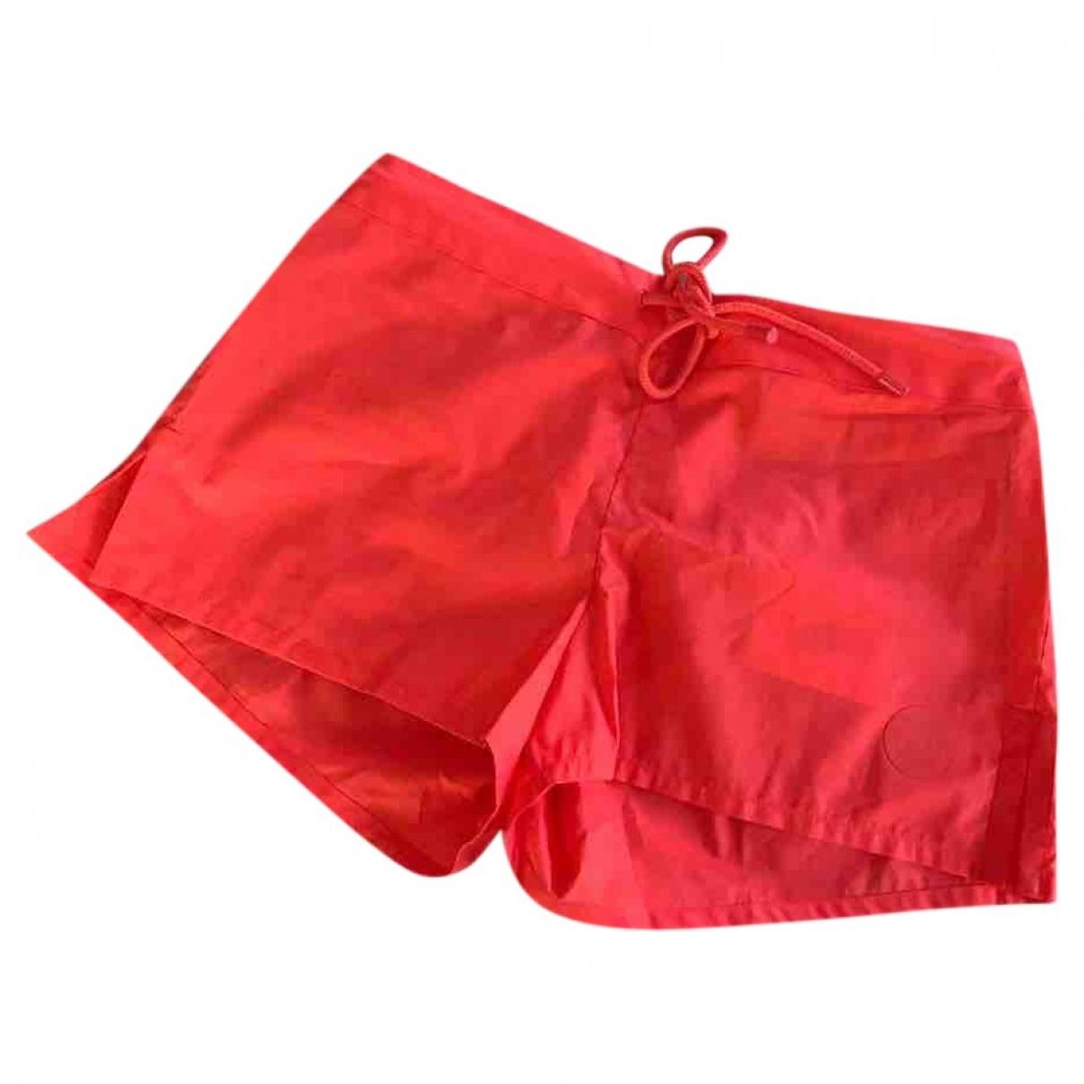 Hermès \N Red Cotton Shorts for Women 34 FR