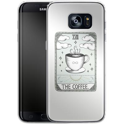 Samsung Galaxy S7 Edge Silikon Handyhuelle - The Coffee von Barlena