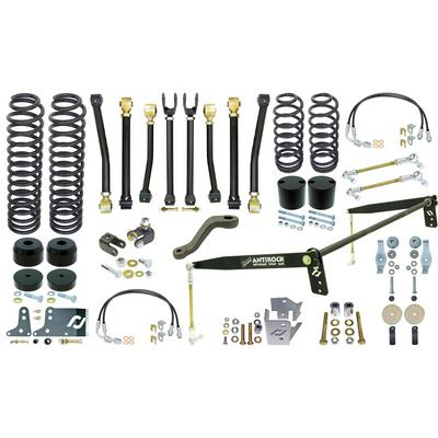 RockJock 4 Inch Off Road Suspension Lift Kit with Rear Antirock - CE-9807AS